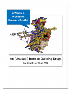 """Booklet cover for """"An (Unusual) Intro to Quitting Drugs"""""""