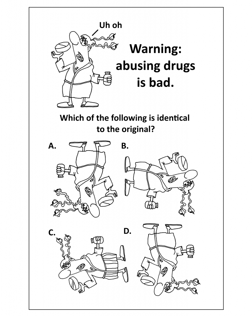 Puzzle - Find the matching picture for recovery